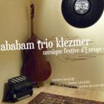 Yababam trio Klezmer