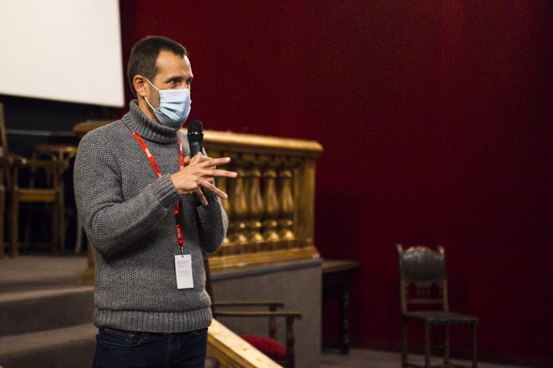 Jose Mari Goenaga réalisateur du film Une vie secrete
