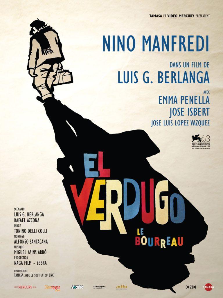 Affiche du film Le Bourreau Cinespana 2021